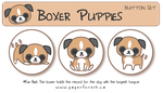 Boxer Puppies by littlepaperforest
