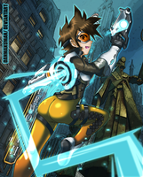 Overwatch - Tracer by DANMAKUMAN