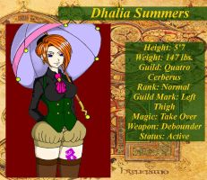 Dhalia Summers by Saints-Of-Ravens