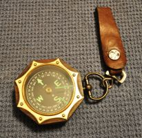 Airship Navigator's Compass by scorch42