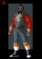 B.A. Baracus by nightwing1975
