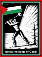 End the siege on Gaza ! by CPGB-ML