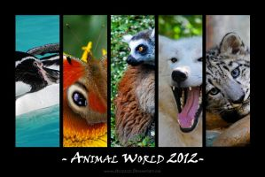 FREE Animal World Calendar by Allerlei