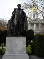 Statue of Franklin Pierce, Capitol Grounds by docstubie