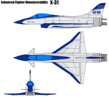 Rockwell-MBB X-31 by bagera3005