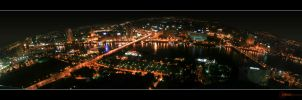 Cairo through the night by DiMoZ