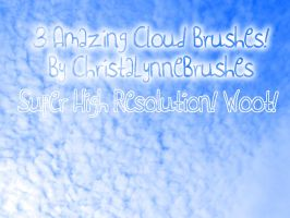 High Resolution Cloud Brushes by christalynnebrushes