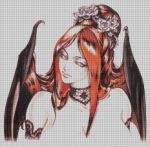 Succubus Cross Stitch Pattern by cosplay-kitty