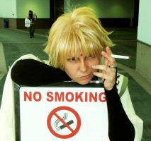 no smoking... SANZO by Mithore-Rauko