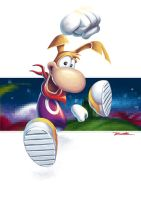 My Childhood in Games - Rayman by Wolfgun