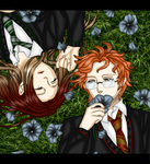 HARRY POTTER OC - Sleeping Beauties by DarkLordLuzifer