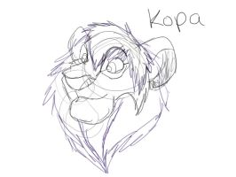 Kopa Sketch by shewolf321