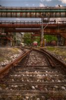 Railroads HDR by friedapi