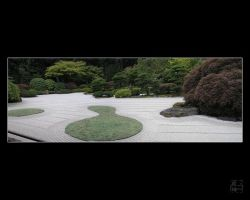 JapaneseGardens-Zen Garden by lilith-darkmoon