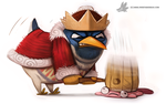 Day 808. King Dedede by Cryptid-Creations