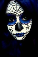 Sugar Skull v2 Makeup by jessibaxx