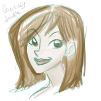 Courtney`s doodle by Sioxanne