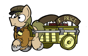 The Fastest Milk-Cart in Equest(ria) by bobthedalek