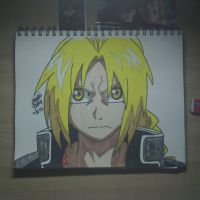 Edward Elric by tnbutterfly456