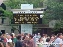 Alfred's ''Pack Place Sign'' XD by gorse1995