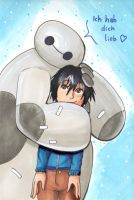 :BIRTHDAY-GIFT: Baymax by Elythe
