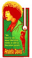 Angela Davis by lukeradl
