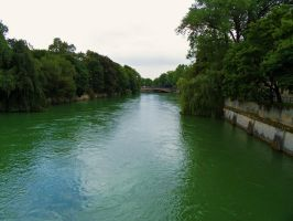 Isar River in Munich by Paul774