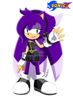 Sonic X - Berry the hedgehog by BubblyFoxy