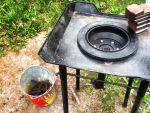 Coal forge from brake drum by drsCompanion