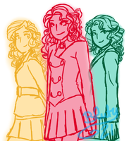 Heather, Heather and Heather by Bluty21
