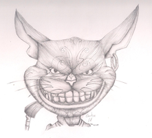 Cheshire Cat by LilachSigal