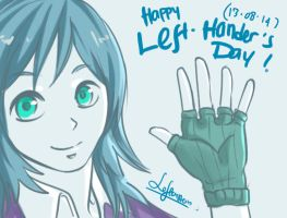 Happy Lefthanders Day! by Lefterstein