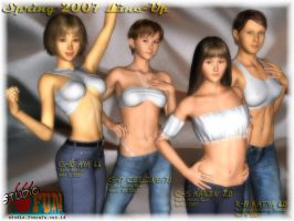 Spring 2007 Line-up - part 1 by Buaya-kun