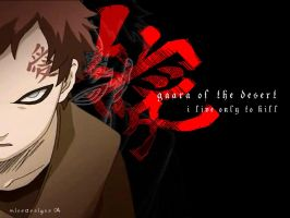 Gaara of the Desert by abcdef-tc