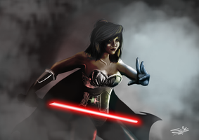 Sith Warrior Concept Art by SuiZ