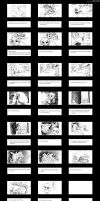 Legend of Zelda Storyboard by ashkey