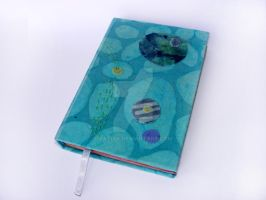 handmade notebook, colorful cards by Patiak