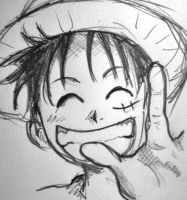 Monkey D Luffy by yuki04