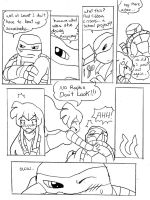 tmnt valentine special pg5 by WolffangComics