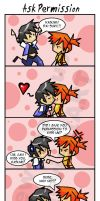 PKMN: Ask Permission Comic by OneWingedMuse