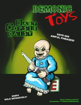Demonic Toys: Baby Oopsie-Daisy by Gummibearboy