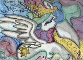 Princess of the Sun - Celestia by neptunestears