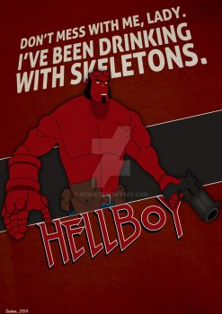 HellBoy: Don't Mess by GTR26
