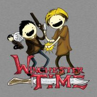 Winchester Time T-shirt by AmberStoneArt