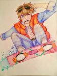 Back to the Future- Marty McFly by Artfrog75