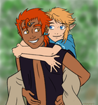 Legend of Zelda AU: Brother from Another Mother by X-I-L2048