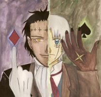 Allen Walker vs Tyki Mikk by arima-shiro