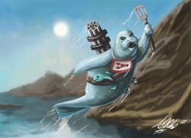 Urf the Manatee by Torvald2000