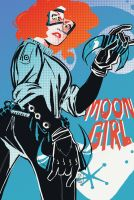 Moon Girl by liliesformary