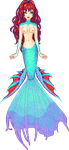 Beta Fish Mermaid by Rythea